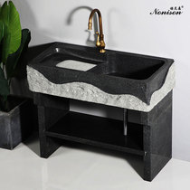 Marble laundry pool impotence with slab outdoor sink courtyard stone stone home stone pool can be customized