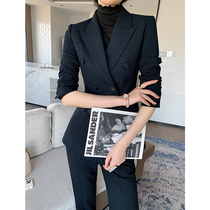 2021 new big brand suit suit women fashion casual temperament professional dress goddess fan high end suit spring and autumn