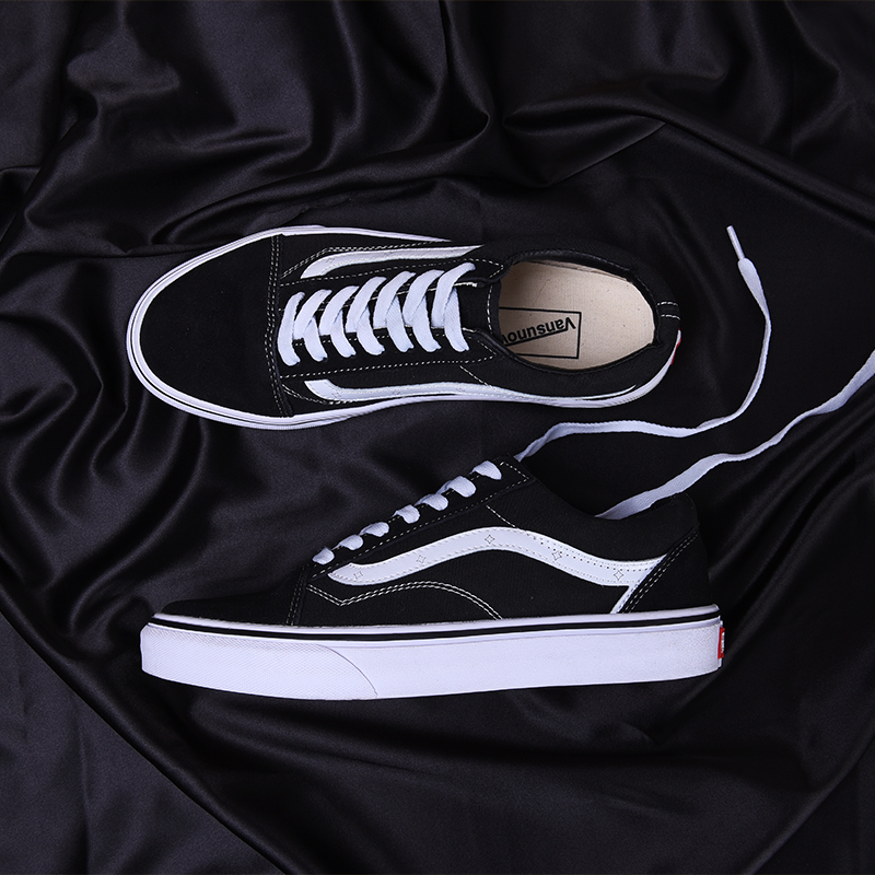 The 50th anniversary of men's shoes of zhuowens official flagship store women's classic low top canvas shoes men