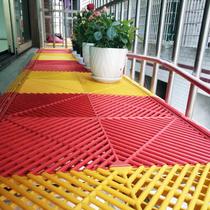 Plastic grille floor anti-theft net pad cover board impotence flower rack guardrail window anti-fall anti-theft window soleplate