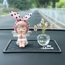 Car ornaments creative personality cartoon lovely angel upscale car decoration web celebrity goddess type car interior decoration