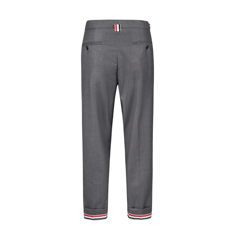 Thom Browne Summer TB men and women couple slim business small feet nine points casual suit pants