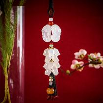 Car pendant female high-grade atmosphere inside the car hanging ornaments male creative jade mythical xiu pendant safe car hanging ornaments
