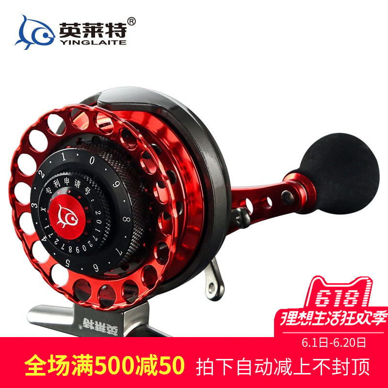 All-metal raft wheel, valve rod wheel, ice fishing bridge, fishing wheel and fishing line wheel