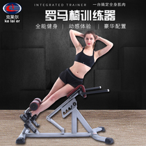 Gym commercial Roman chair fitness equipment waist-lifting goat stool waist muscle trainer private teaching strength equipment