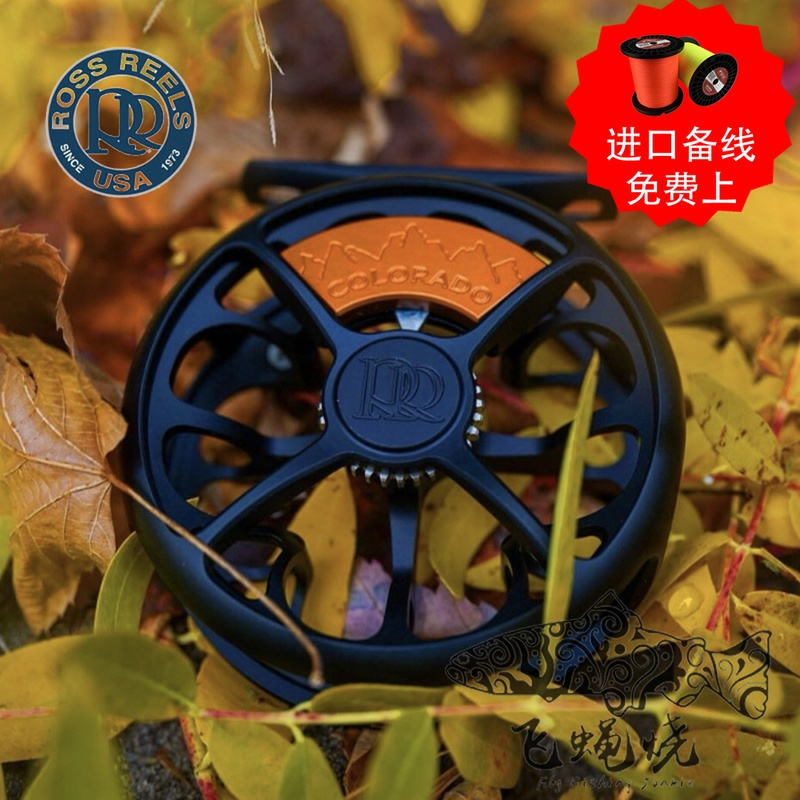 Spot 21 years of new ROSS COLORADO fly fishing wheel freshwater fly fly wheel fishing fly fever