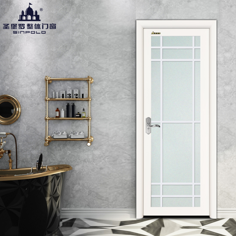 Customized kitchen door, bathroom door, interior door, paint door, bathroom glass door, European LGY014