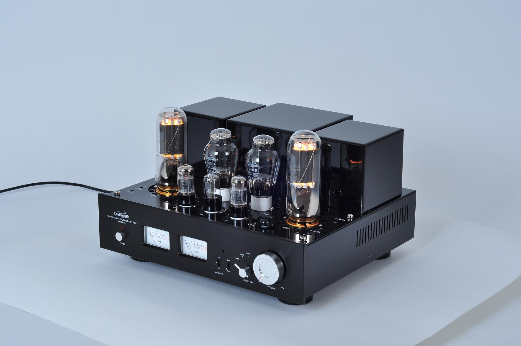 Line Magnetic Magnetic LM-508IA Combined Biliary Machine Power Amplifier 805 Electron Tube Single End Class A