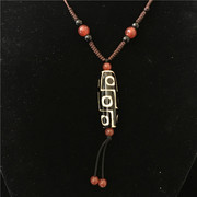 Special offer nine Tibet agate ordinary agate baked agate beads pendant with Necklace