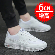 Summer white mesh shoes shoes 6cm shoes Korean male student sport shoes