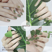La mula wood nail polish lasting peelable waterproof suit non-toxic Manicure drying does not fade South Korea foot oil