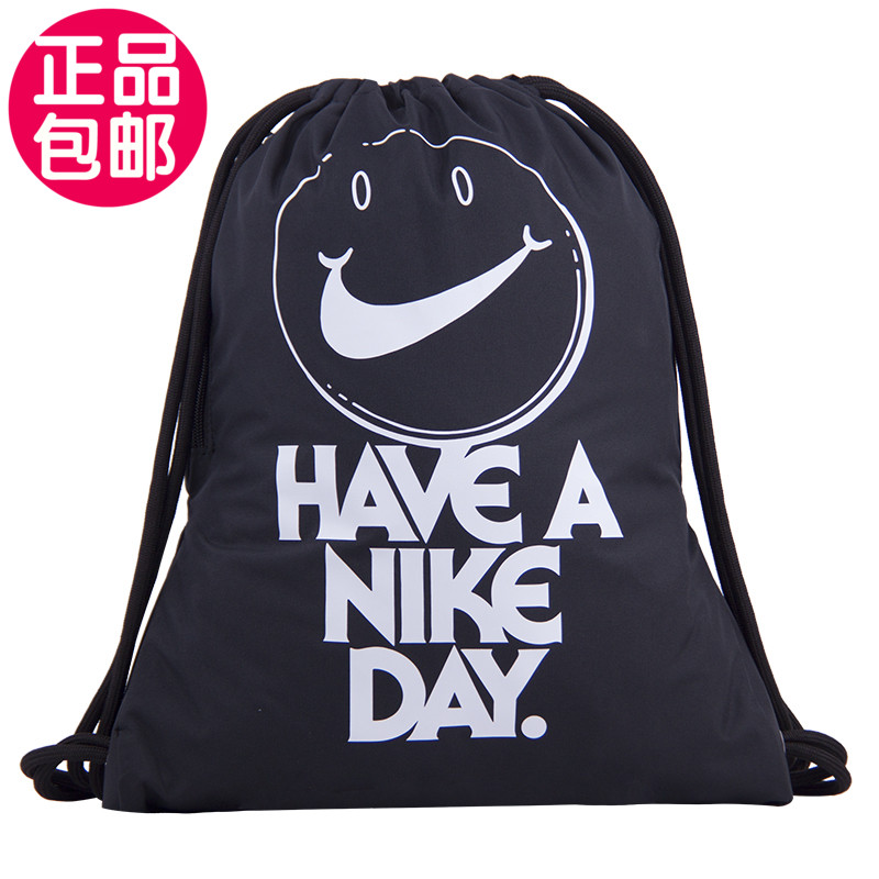 Nike Nike bag, rope-pulling knapsack, bundle-mouth fitness bag, bag BA6011BA5552 BA6048 BA6012