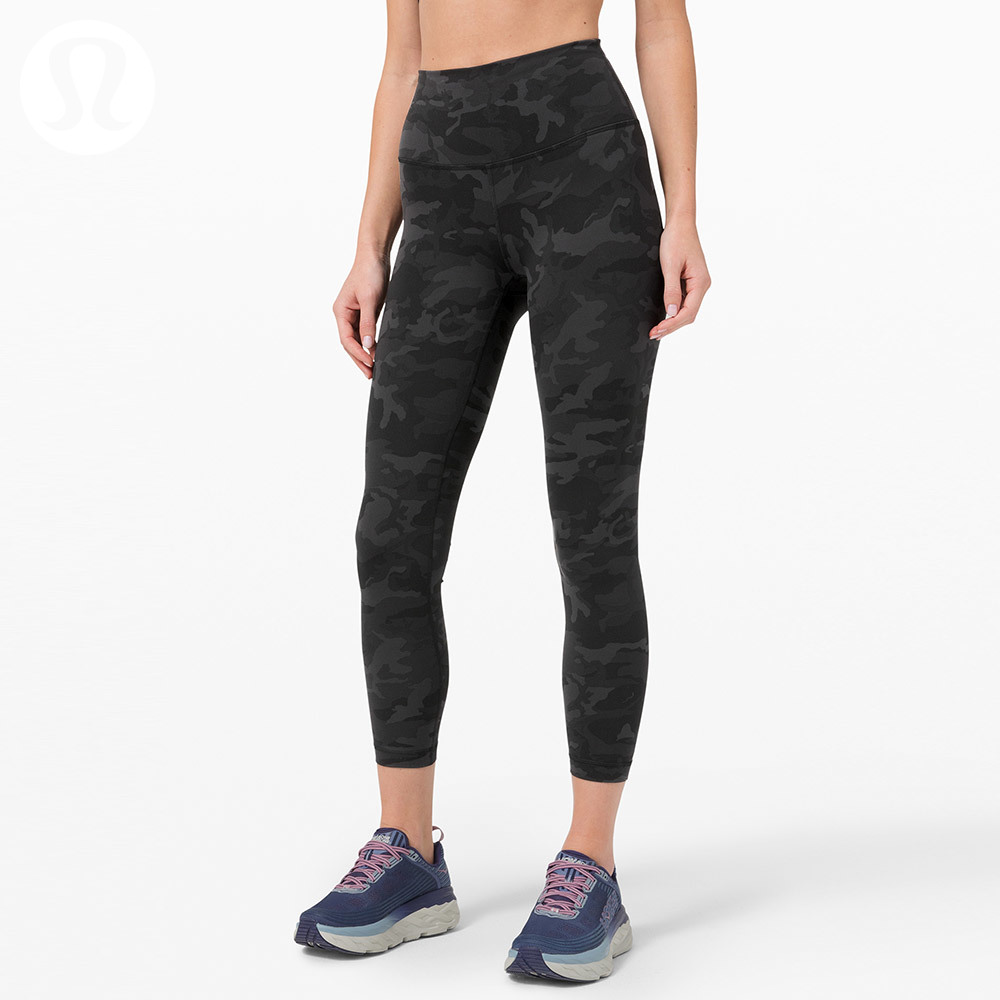 Lululemon Wunder train women's sports high waisted tights 25 \