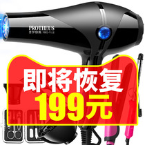 Hair dryer home barber shop size power hair salon negative ions hot and cold hair dryer dormitory student hair care