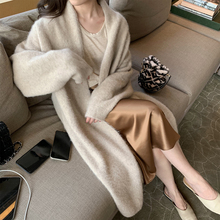ASM ANNA_self-retaining recommendation! High-end limited Himalaya yarn cashmere knitted cardigan
