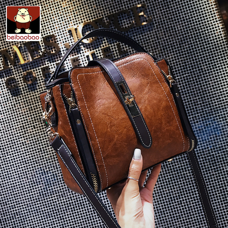 North bag small bag female 2018 new wave Korean version of the fashion wild casual student explosion models shoulder Messenger bag