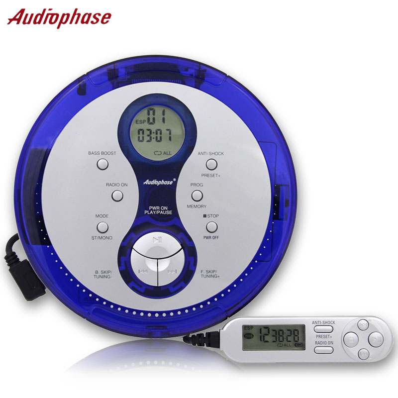 New American Audiophase Portable CD Player CD Player Support English CD