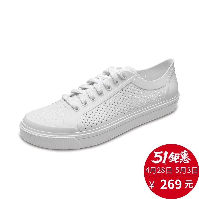 3d925b9df Crocs card Luo Chi men s shoes autumn new style will be street Loka tie low  to