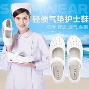 Special offer every day white nurse shoes shoes with slope shallow mouth of comfortable and light leisure shoes slip
