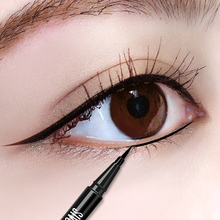 Eyeliner Pen waterproof, sweat proof, non staining, lasting, no dizzy, big eye, makeup, beginner, eye liner, pencil, female pencil.