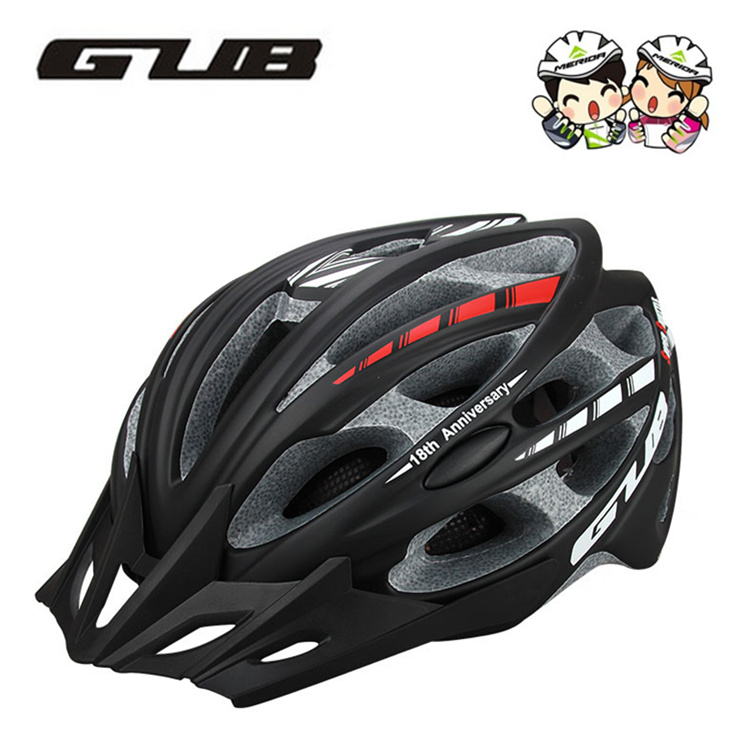 GUB SS Mountainous Bicycle Riding Helmet with Insect-proof Net