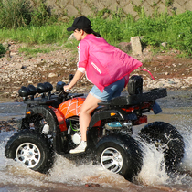 Gasoline motorcycle Big Bull ATV for rent Four-wheeled off-road vehicle double 0 vibration 200CC stepless speed change