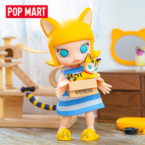 POPMART BUBBLE MART MOLLY CARTON MEOW movable doll BJD decoration TOY doll gift