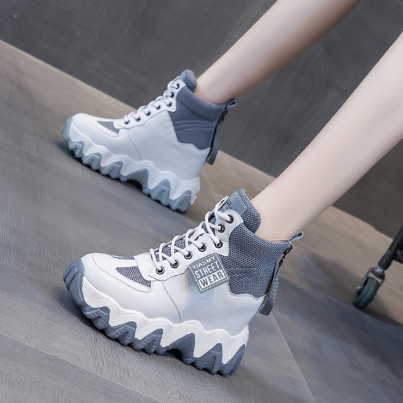 Dad's women's shoes new spring 2020 netred super hot all-in-one high heel casual sports ins trend shoes
