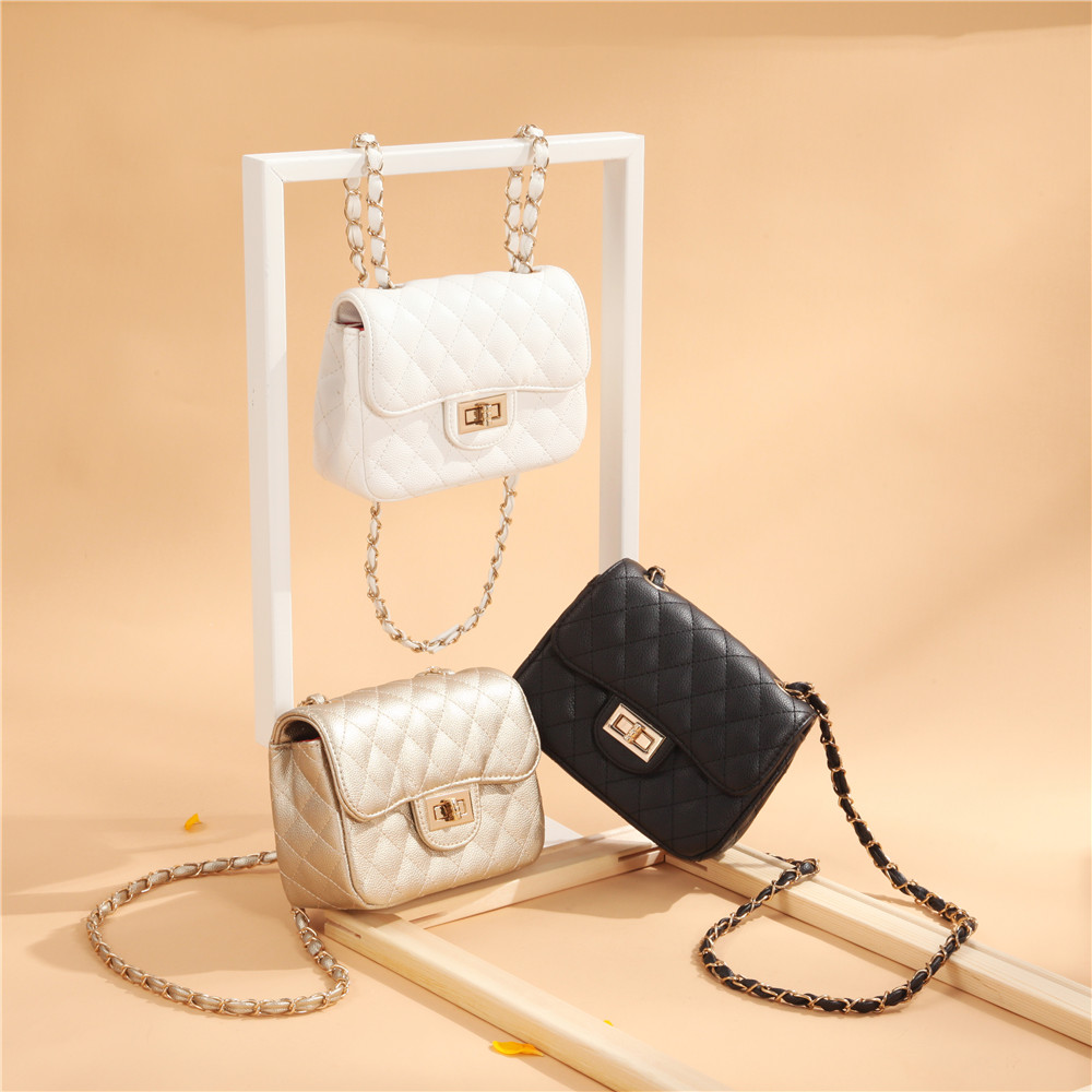 Malenu bag women 2019 Lingge messenger bag single shoulder small square bag chain mini bag small fragrant wind bag