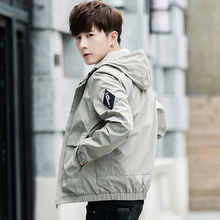 Fall Jacket Men's Fall and Winter Wear on New Spring and Autumn Korean Edition Fashion Leisure Workwear