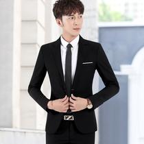 Костюм костюм мужской корейский тонкий жених жених свадебное платье бизнес досуг карьера маленький пиджак мужчины
