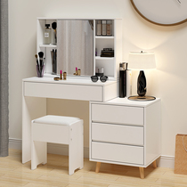 Net red ins makeup table dresser bedroom modern minimalist economy cabinet one multifunctional makeup table