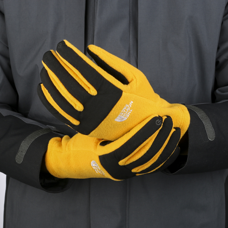 North official website flagship 2021 summer mens sports outdoor cold-proof cycling ski grab velvet warm women touch screen gloves