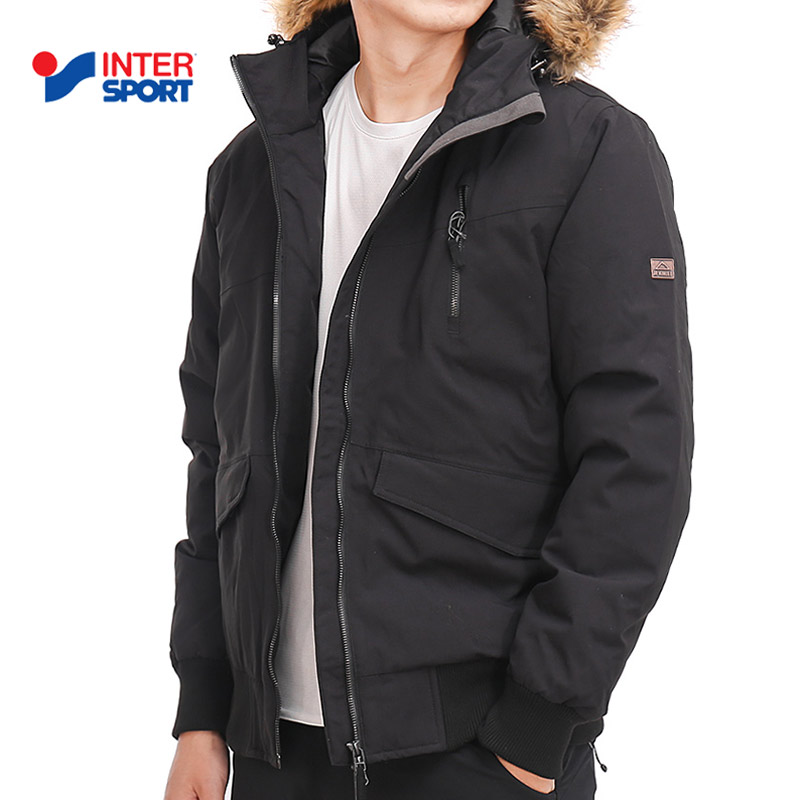 INTERSPORT men's 2018 winter outdoor sports light and windproof warmth thickened down jacket 270077