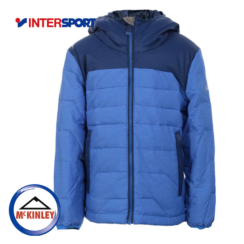 INTERSPORT boys autumn and winter sports and leisure light breathable wear short section warm down jacket 256901