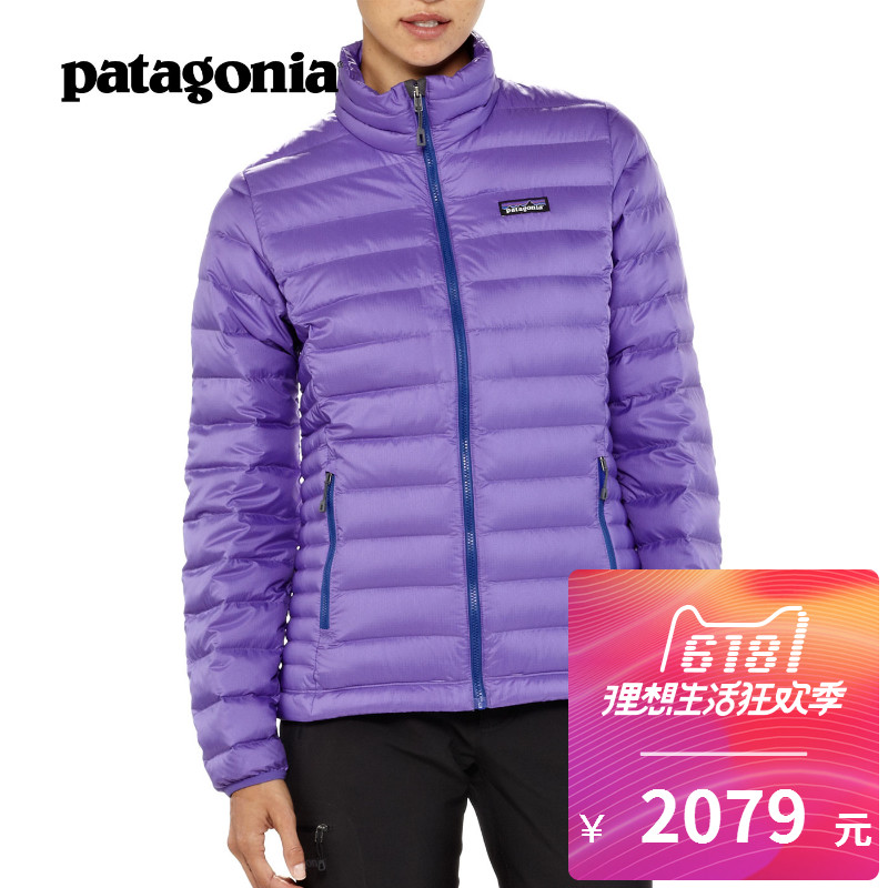 PATAGONIA/Patagonia Down Sweater Female Outdoor Fall and Winter Light and Warm Down Suit