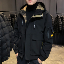 Men's Outerwear Fall 2019 New Korean Fashion Brand Spring and Autumn Workwear Leisure Jacket Men's Outerwear Fall and Winter Top