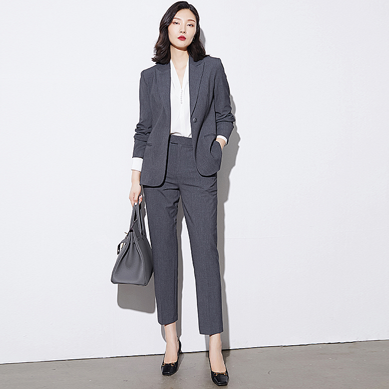 Professional suit Womens suit suit 2021 spring summer new fashion temperament high-end formal interview work wear
