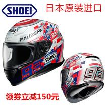 Japan imported SHOEI Z7 motorcycle helmet men and women Z-7 Marquis anti-fog full helmet racing helmet