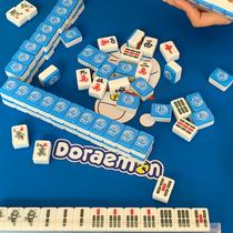 Mini mahjong voyage dortoir portable mignons petits mini poche filet rouge dortoir étudiant trompette mahjong tuiles