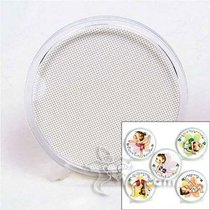 South Korea Ye single large round cup pad blank cup pad does not contain the drawing line cross-stitch plastic cloth