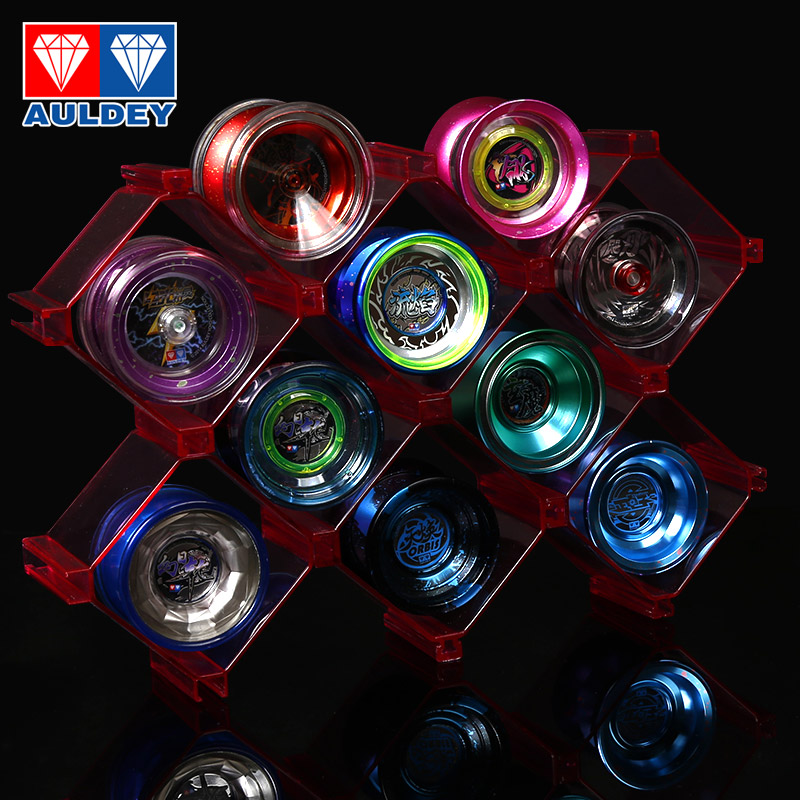 Yo-yo Firepower Junior Wang Yo-yo Audi Double Diamond Audi Genuine 2A Children's Luminous Flame Yoyo