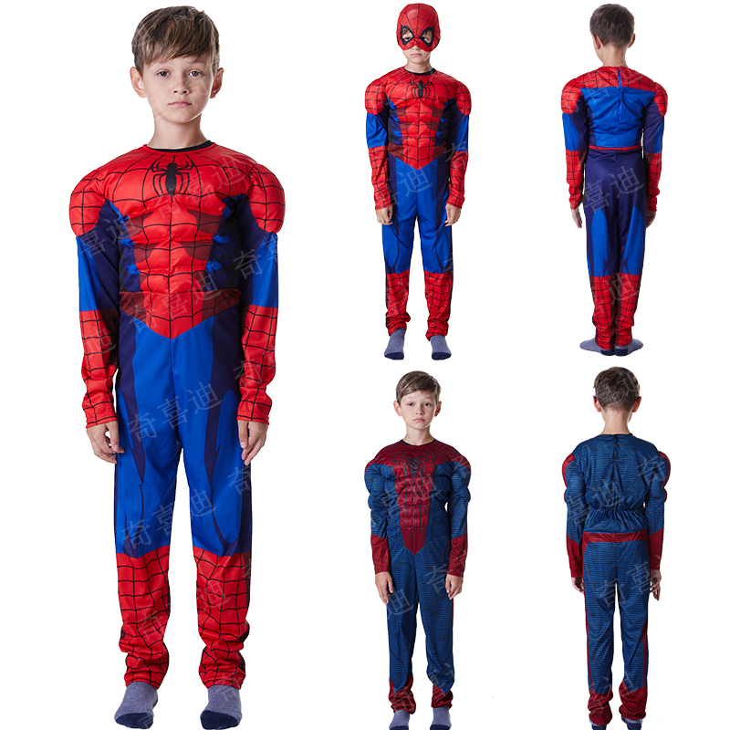 Spider-Man Avenger Alliance extraordinary muscle Cosplay dress for Christmas Halloween Children's Day party