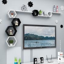 Настенная полка гостиная ТВ фон стеновые перегородки видео и видео настенные украшения настенные шкафы комната креативная решетка