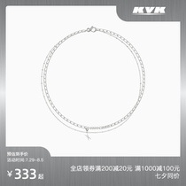 KVK cold high-grade wind light luxury niche design free assembly personality clavicle necklace Tanabata gift to girlfriend
