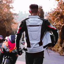 Motoboy biker mens motorcycle suit summer mesh motorcycle suit rider equipped with four seasons waterproof breathable