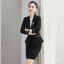 High-end overalls, suits, autumn and winter professional suits, women's fashion temperament