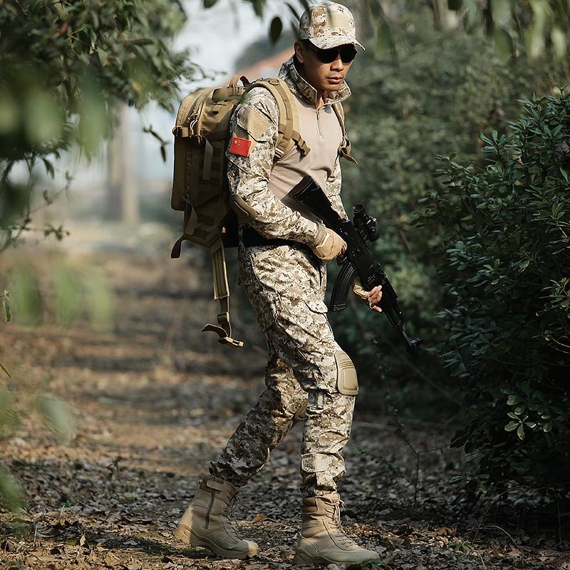 Costume de camouflage hommes forces spéciales uniforme loup de guerre 2 les mêmes fans militaires extérieurs entraînement de combat frog costume équipement tactique