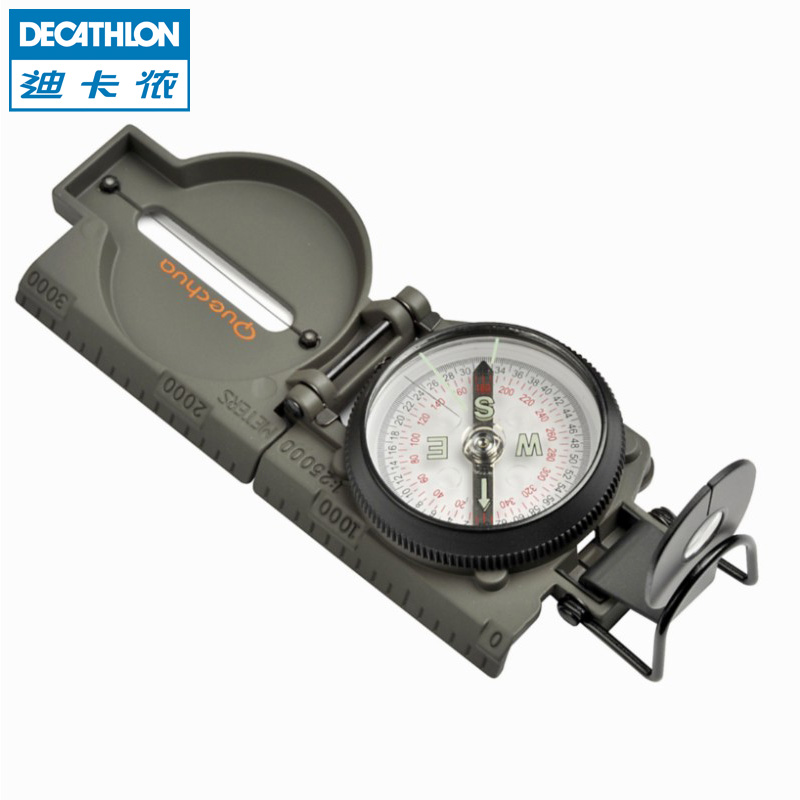 Di Cannon Outdoor Hiking Compass refers to the North Needle Sport Multi-Function Portable Pallet Compass Oriented WSCT