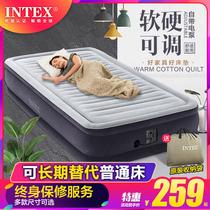 INTEX inflatable 牀 home double air cushion牀 single portable folding automatic inflatable 牀 pad 牀 pad